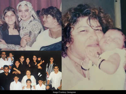 Photos: Saroj Khan's personal family album