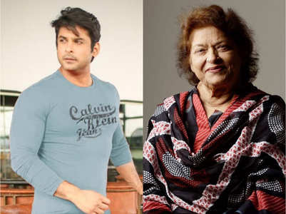 Sidharth Shukla on Saroj Khan's demise