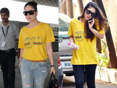 Only Kareena can wear an INR 35,000 t-shirt to the gym