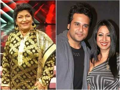 Kashmera: Saroj ji once scolded Krushna and me