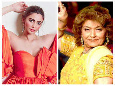 Daisy Shah on Saroj Khan's demise