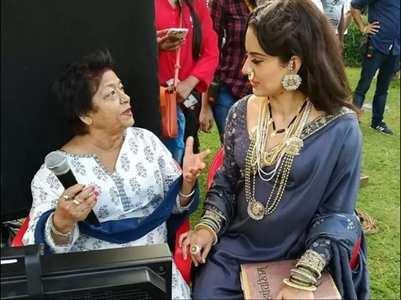 Kangana Ranaut on working with Saroj Khan