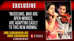 Musicians, who are open-minded, are adapting this new normal, say Ambi and Bindu Subramaniam