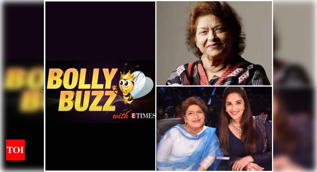 Bolly Buzz: Choreographer Saroj Khan passes away due to cardiac arrest, Bollywood mourns her loss – Times of India ►