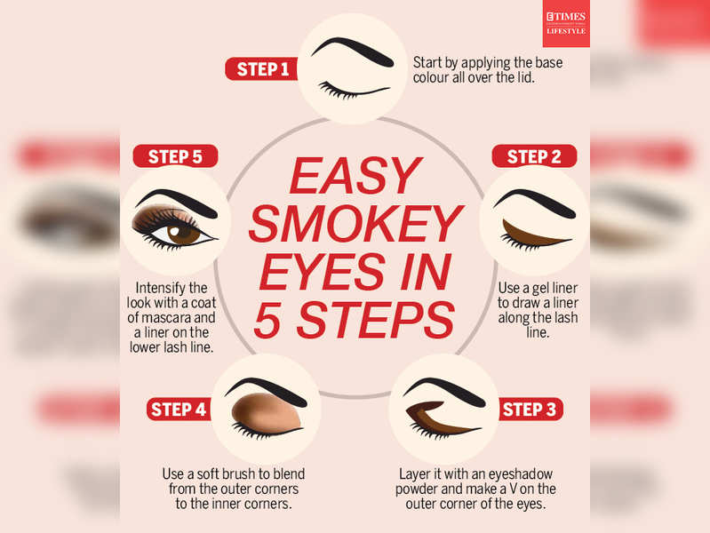Try smokey eyes with these five easy steps
