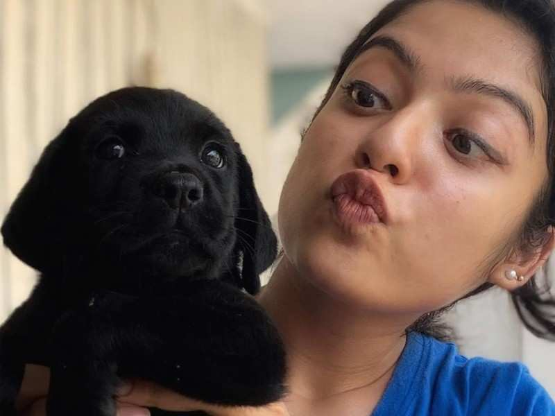 Varsha Bollamma introduces her new puppy Hachiko and spreads awareness about parvo virus