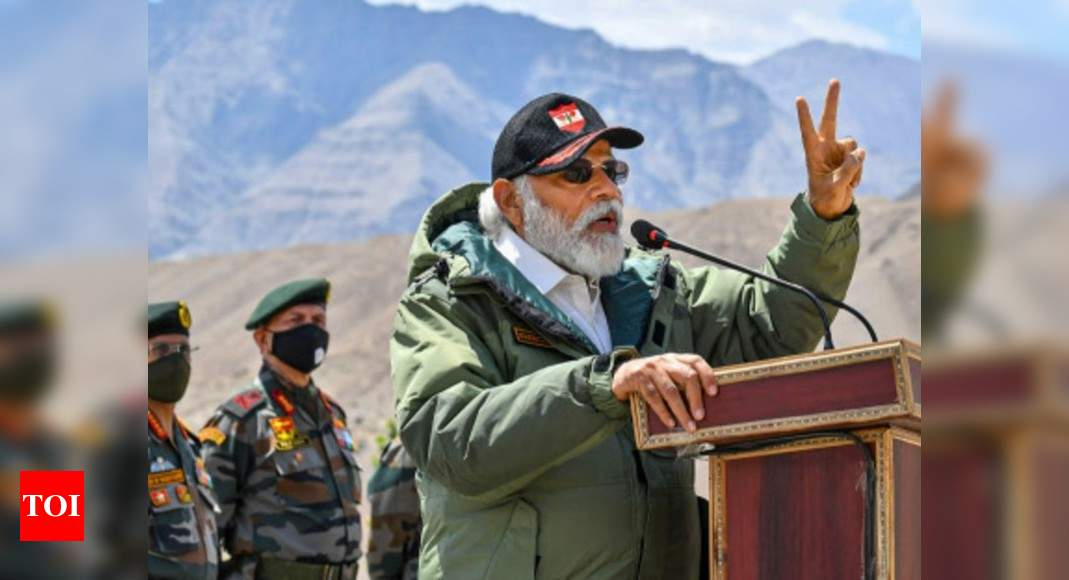 Narendra Modi:   India bringing modern technologies from around world for armed forces: PM | India News – Times of India
