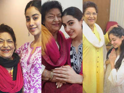 B'wood newbies who trained under Saroj Khan