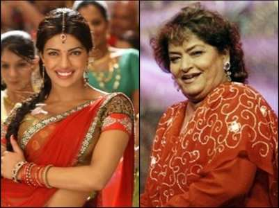 Priyanka fondly remembers Saroj Khan