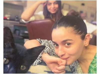 PIC: Alia Bhatt welcomes a new family member