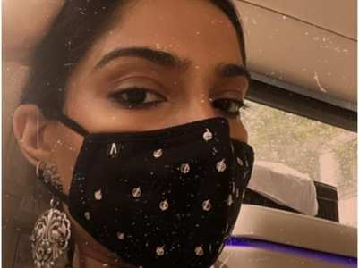 Sonam Kapoor steps out in style; view post