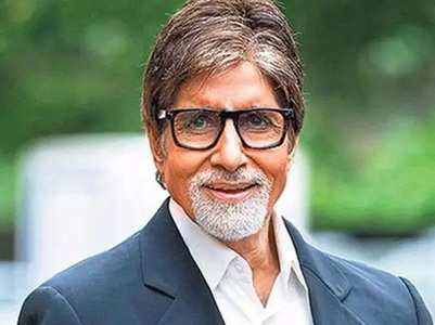 Big B raises awareness about face masks