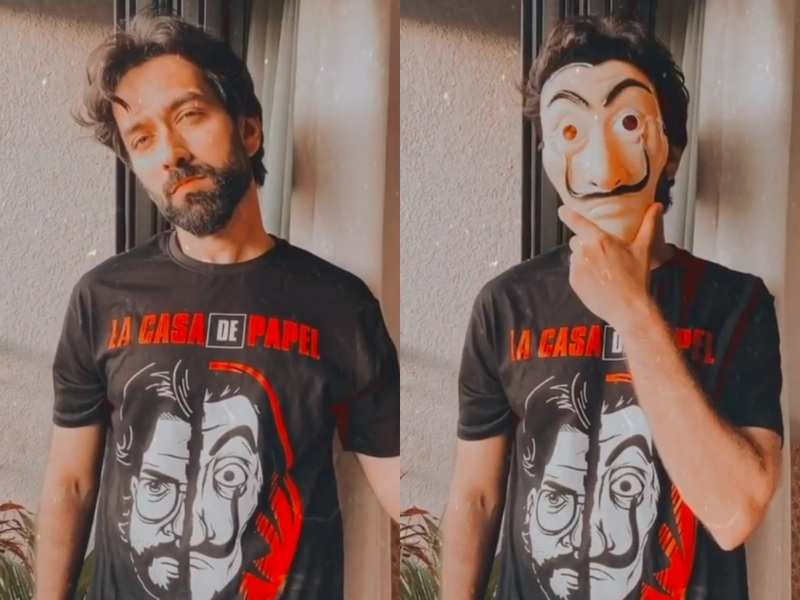 Nakuul Mehta gives 'Kyunki' title song a new twist; shows 'Rishton Ke Bhi Roop Badalte Hain' with his mask