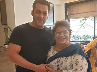 Saroj's daughter Sukaina on Salman's support