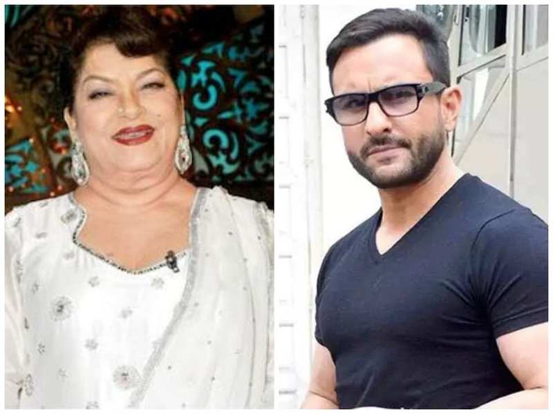 Saif Ali Khan reminisces memories with Saroj Khan while working for the song 'Ole Ole'