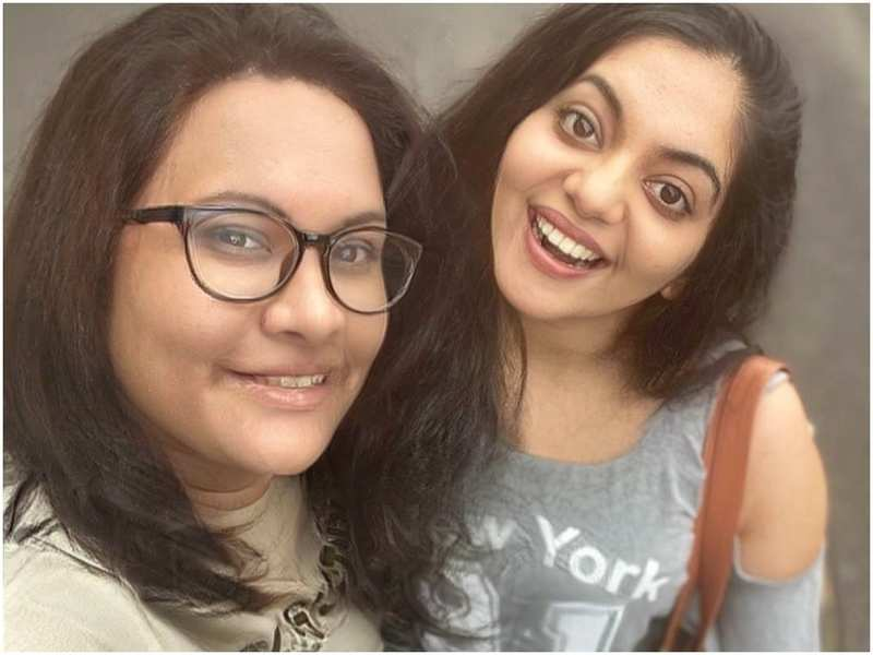 Can you guess the actor posing with Ahaana Krishna in her latest selfie?
