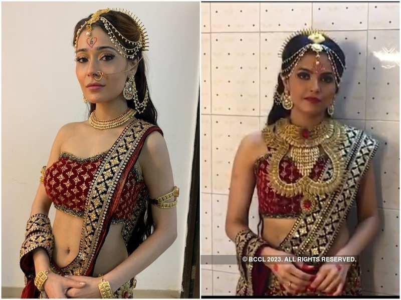 Sara Khan and Seema Mishra