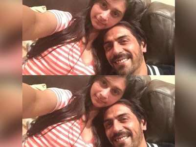 Arjun congratulates daughter for good scores