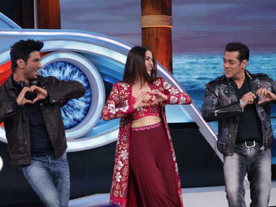 PICS: SSR's fun moments with Salman Khan