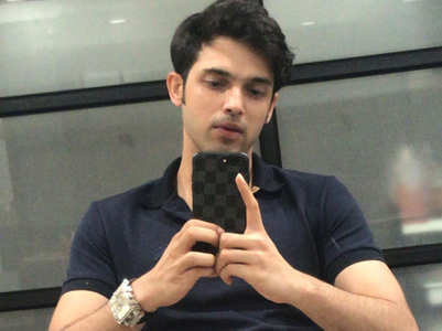 Parth Samthaan takes a break from social media