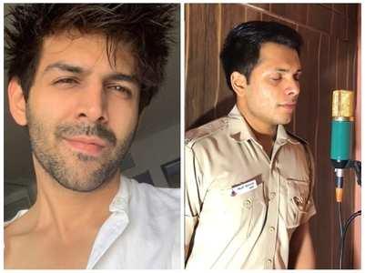 Kartik praises cop who sang 'Tera Yaar Hoon'