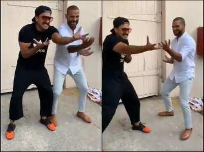 Shikhar's funny b'day wish for Ranveer