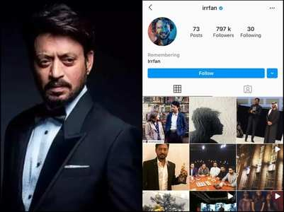 Insta adds 'Remembering' to Irrfan's profile