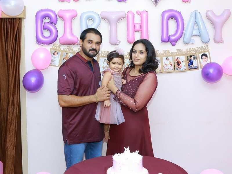 Izabel turns one; doting dad Ranjith Raj throws a birthday party