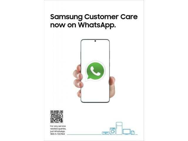 Samsung announces customer care support via WhatsApp