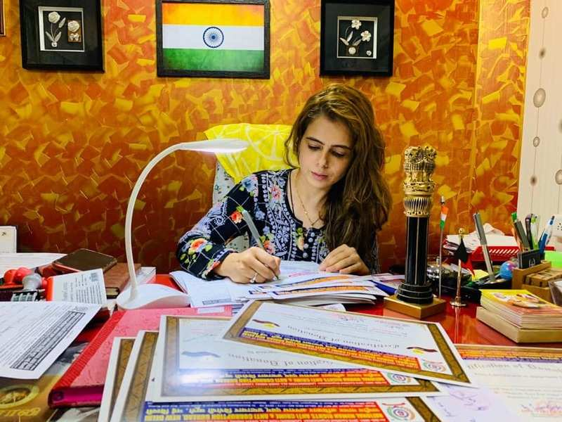 Alisha Abdullah is now the state president of National Human Rights and Anti Corruption and Bureau