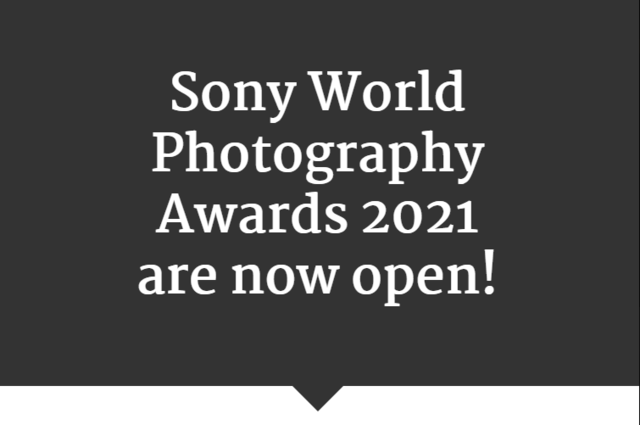 Sony World Photography Awards submission dates announced, introduces new categories
