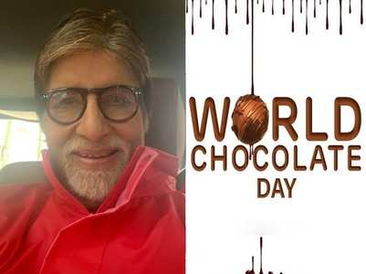 Amitabh Bachchan's post on #WorldChocolateDay
