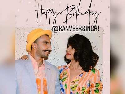 Priyanka wishes Ranveer on his 35th birthday