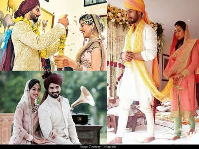 Shahid Kapoor-Mira Rajput's wedding photos