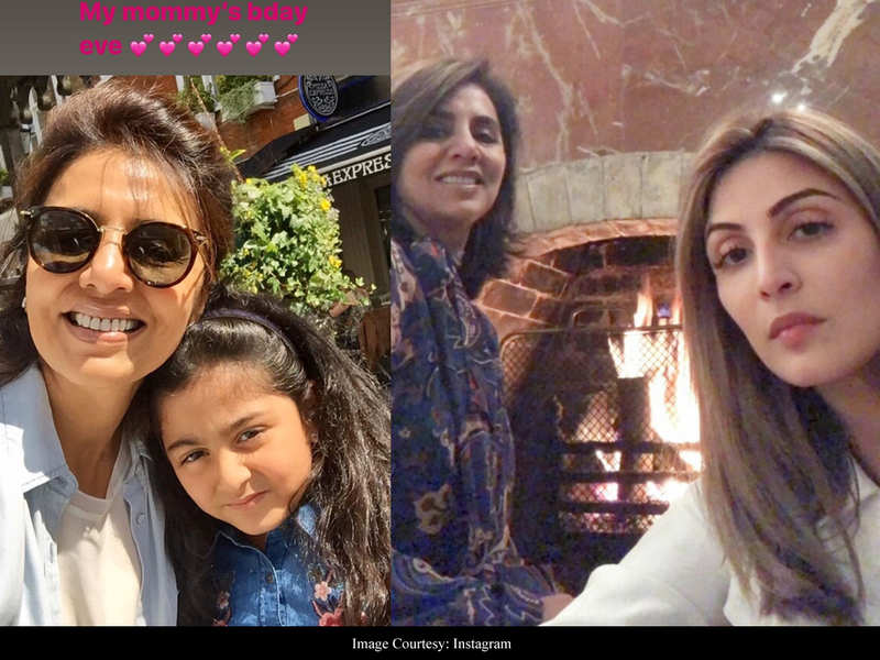 Riddhima Kapoor shares doting photos of Neetu Kapoor on the eve of her mother's birthday