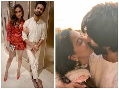 Pics of Shahid-Mira that are all things love