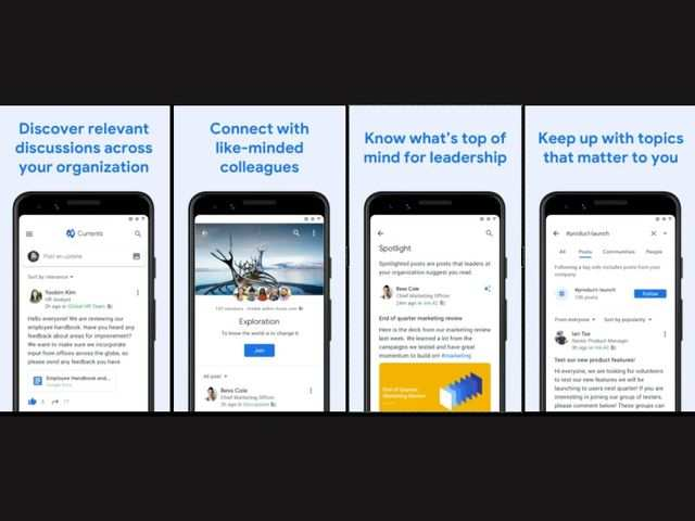 Google relaunches Google Plus as Currents