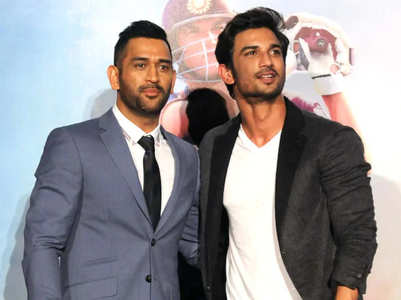 MS Dhoni fans pay a heartfelt tribute to SSR