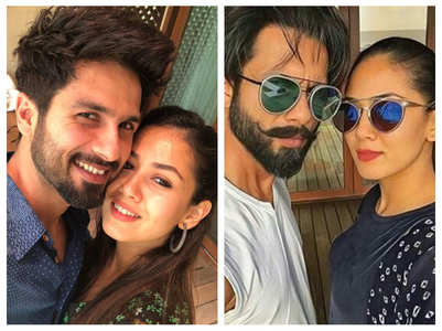 Shahid-Mira's selfie game is right on point