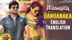 Check Out Latest Telugu Music Video Song 'Dandanaka' From Movie 'Gunturodu' Starring Manchu Manoj And Pragya Jaiswal