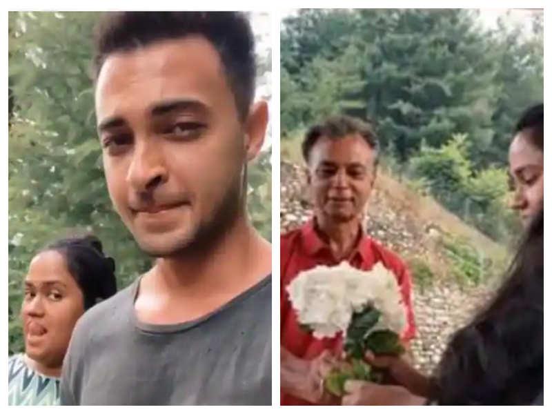 Photos: Salman Khan's sister Arpita Khan Sharma spends time with husband Aayush Sharma and kids in Himachal Pradesh