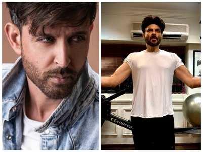 Hrithik on Anil Kapoor's post-workout pics