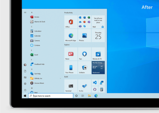 How to enable the new Start Menu in Windows 10
