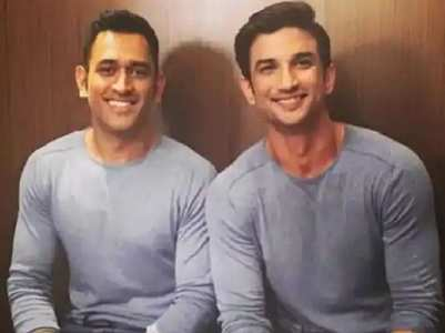SSR's throwback pictures with MS Dhoni
