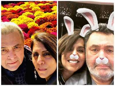 HBD Neetu: Selfies of the actress with Rishi