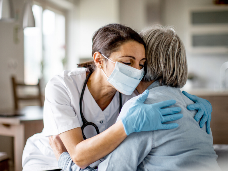 This doctor discharges recovered COVID patients with a hug; the reason is heartwarming
