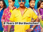 Prachi Desai trolls Ajay Devgn for tagging only Amitabh & Abhishek Bachchan in Bol Bachchan's 8 years celebration post
