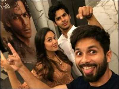 Ishaan wishes Shahid & Mira with a TB pic