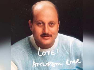 Anupam misses sending autographed pictures!