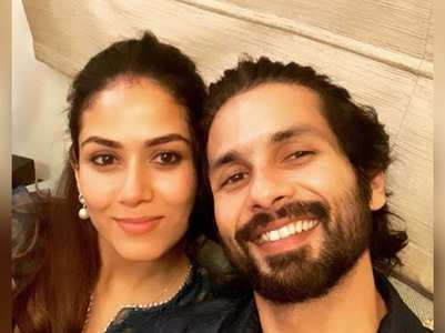 Shahid posts pic with Mira on 5th anniversary